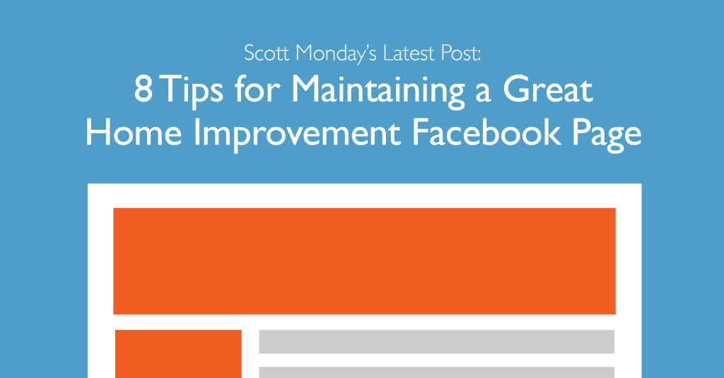 Facebook for home improvement marketing for Home improvement tips